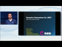 [Apr 2011, 75 min] Reactive Extensions for .NET for the Rest of Us