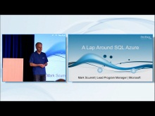 A Lap Around SQL Azure