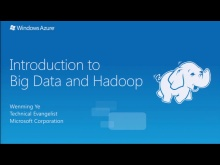 Introduction to Hadoop on Windows Azure