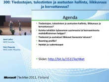 TechNet 2011 - Neuvotteluratkaisut osa 4: N&#228;in integroin matkapuhelimet osaksi viestinn&#228;nratkaisuja