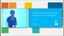 Designing Metro style apps that are touch-optimized