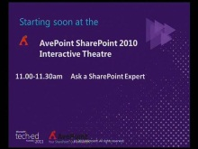 Ask a SharePoint Expert: final Q&A Panel