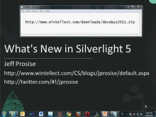 Whats New in Silverlight 5