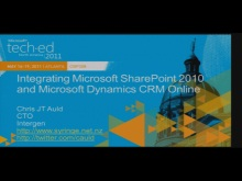 A Developer&#39;s Guide to Integrating Microsoft Dynamics CRM 2011 &amp; SharePoint 2010