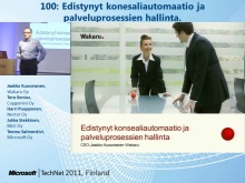 TechNet 2011 - Konesalipalvelut osa 1: Edistynyt konesaliautomaatio