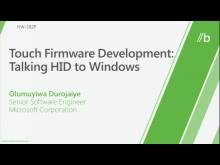 Touch firmware development: Talking HID to Windows