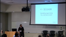 Bloom: Disorderly Programming for a Distributed World