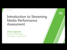 Introduction to the streaming assessment
