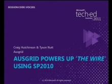 Ausgrid powers up &quot;The Wire&quot; using SP2010