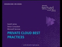 Best Practices for Private Cloud Implementation