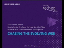 Chasing the evolving web