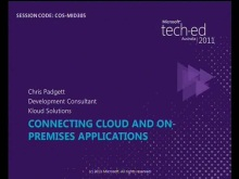 Connecting Cloud and On-Premises Applications