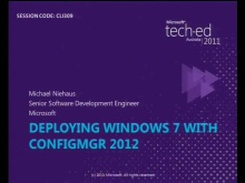 Deploying Windows 7 with Configuration Manager 2012