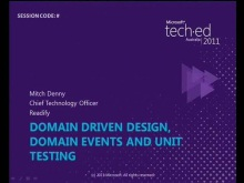 Domain Driven Development, Domain Events &amp; Unit Testing