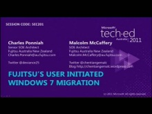 Fujitsu's User Initiated Windows 7 Migration