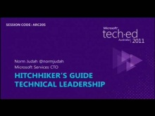 Hitchhikers Guide To Technical Leadership