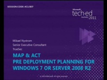 MAP &amp; ACT  Predeployment planning for Windows 7 or Server 2008 R2