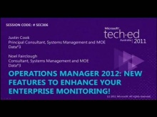 Operations Manager 2012: New Features