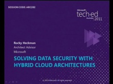 Solving Data Security with Hybrid Cloud Architectures