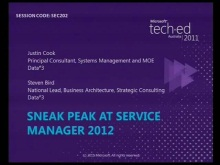 Sneak peek at Microsoft System Center Service Manager 2012