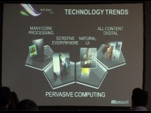 Keynote - Future of Development, Cloud, Phone, Web and Kinect