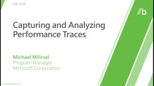Capturing and analyzing performance traces