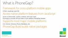 Building Cross-Platform Mobile Applications with HTML5