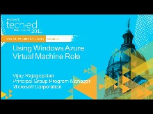 Using Windows Azure Virtual Machine Role