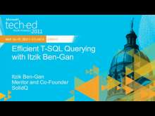Efficient T-SQL Querying with Itzik Ben-Gan