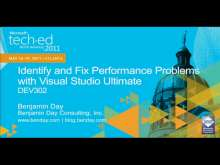 Identify and Fix Performance Problems with Microsoft Visual Studio Ultimate