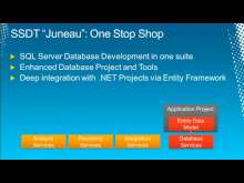 "Microsoft SQL Server Developer Tools,Code-Named ""Juneau"" and the ADO.NET Entity Framework: Best Friends Forever"