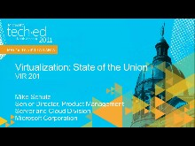 Virtualization: State of the Union