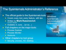 Sysinternals Primer: Autoruns, Disk2vhd, ProcDump, BgInfo and AccessChk