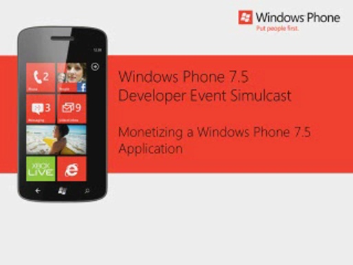 USA Session7 Monetizing a Windows Phone 7.5 Application